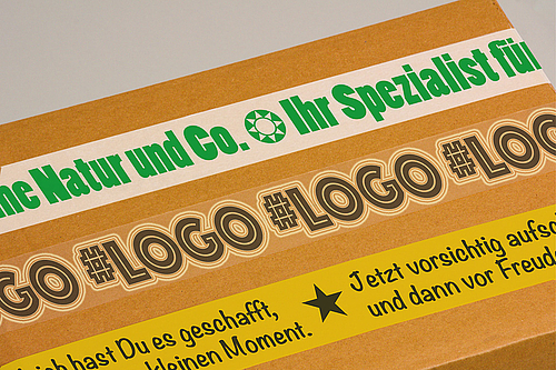 pohlscandia Printed Packing Tapes - Continuous Advertising