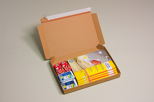 POSTBOX Corrugated Board Mailing Boxes with Peel and Seal