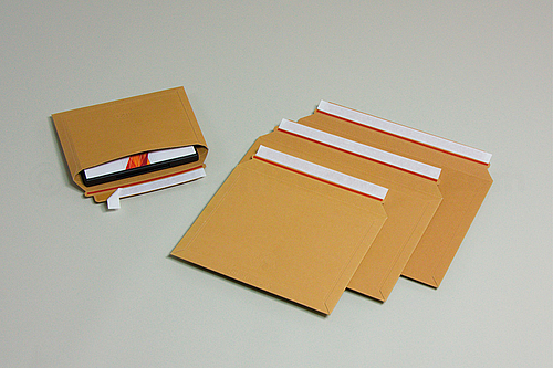 BRIEFBOX X Cardboard Envelopes with WIDE Opening