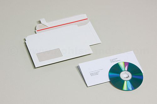 FIXCOLL COMPACT Cardboard Envelopes for CD-Mailing
