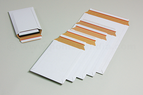 WELLBOX Corrugated Mailing Bags with Peel and Seal