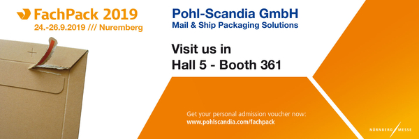 Pohl-Scandia: Visit us in Hall 5 - Booth 361