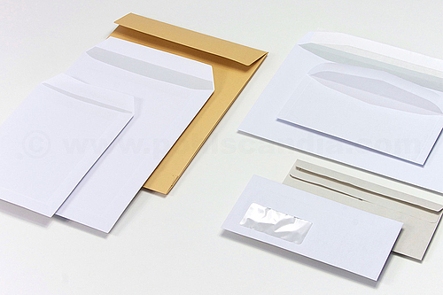 Paper Envelopes and Paper Mailing Bags